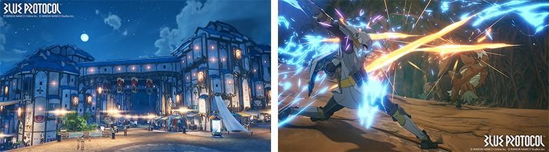 アニメと3Dが融合している『ブループロトコル』