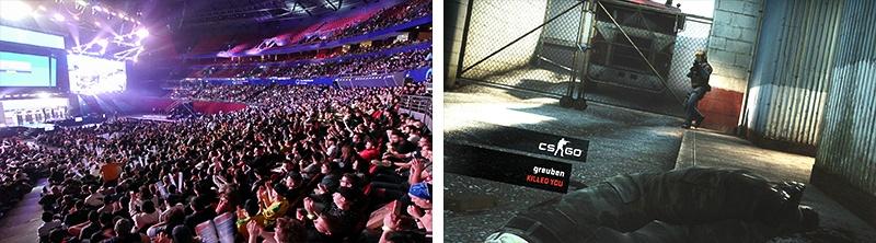 シドニーでeスポーツ大会が開催された『CS:GO』