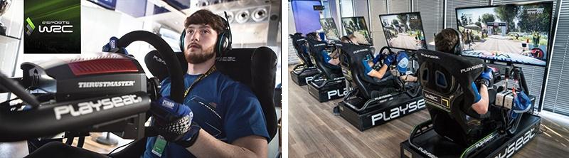 オンラインでeスポーツに参戦できる『WRC7』