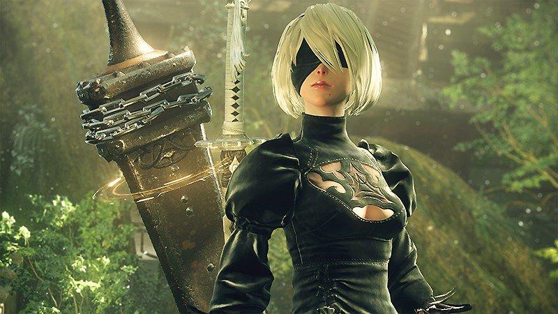 アンドロイド部隊として戦う『NieR:Automata (ニーア:オートマタ)』