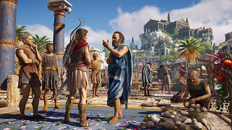 シリーズ中最も古い歴史を描く『Assassin's Creed Odyssey (アサシン クリード オデッセイ)』
