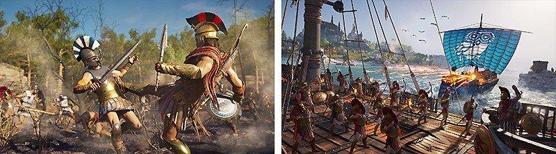 ギリシアとアテナイの抗争を描く『Assassin's Creed Odyssey (アサシン クリード オデッセイ)』