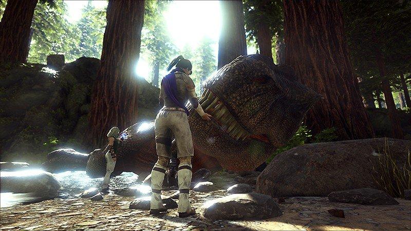 恐竜をて名付けられる『ARK: Survival Evolved』
