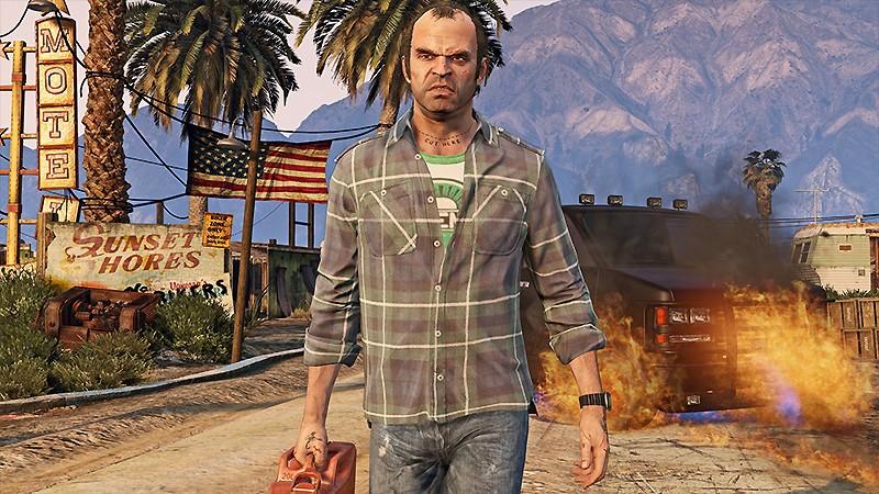 クライムアクションを体験できる『Grand Theft Auto V (グランド・セフト・オートV)』