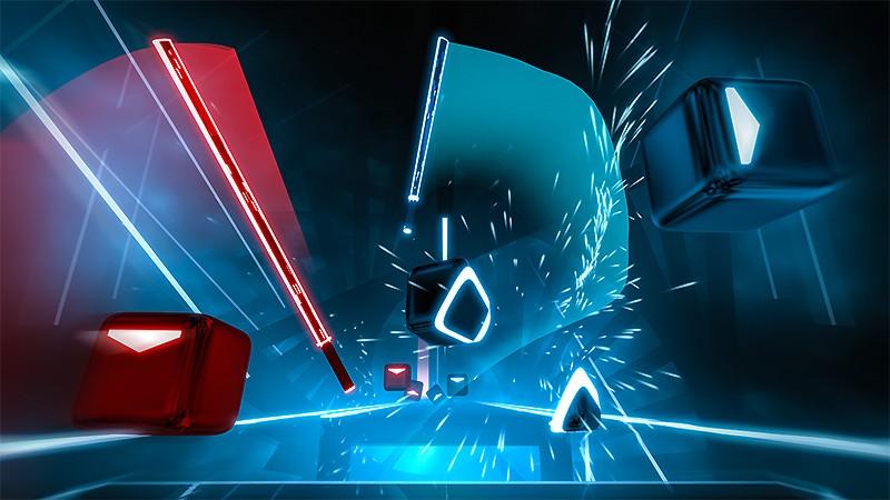 VR向けリズムゲーム『Beat Saber』