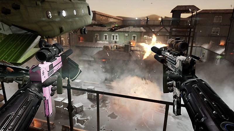 FPSを体験できる『Zero Caliber VR』