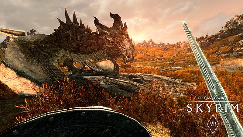 人気RPGをVR化した『The Elder Scrolls V: Skyrim VR』