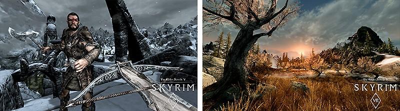 ファンタジー世界を体験できる『The Elder Scrolls V: Skyrim VR』