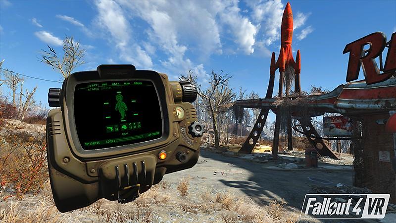 人気SF作品をVR化した『Fallout4 VR』