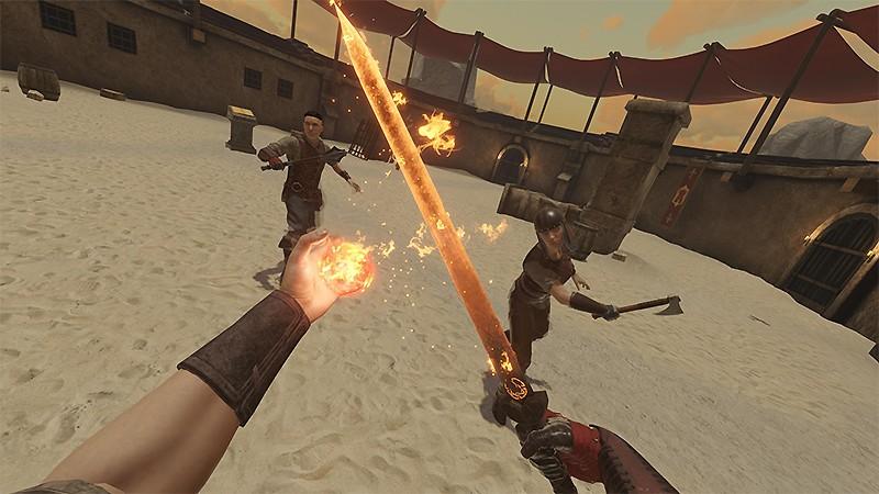 ファンタジー世界で戦う『Blade and Sorcery』