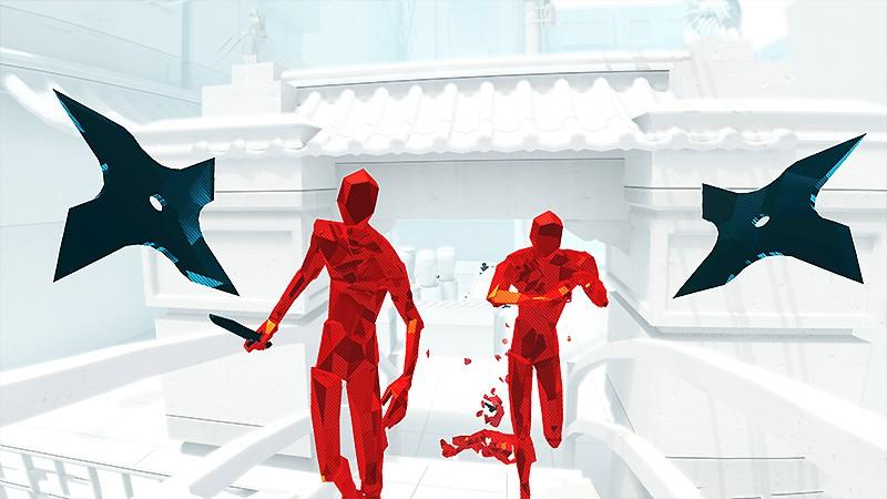 アイデア勝負の作品『SUPERHOT VR』