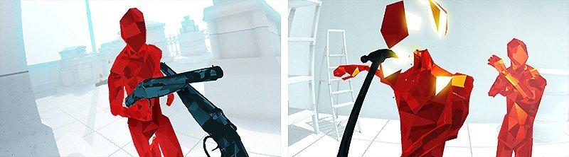 独自のアクション性が魅力の『SUPERHOT VR』