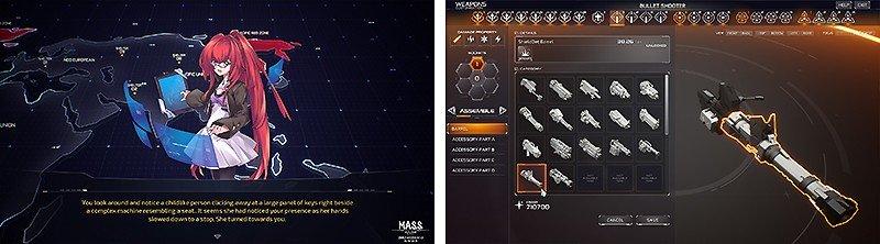メカ好き必見のタイトル『M.A.S.S. Builder』