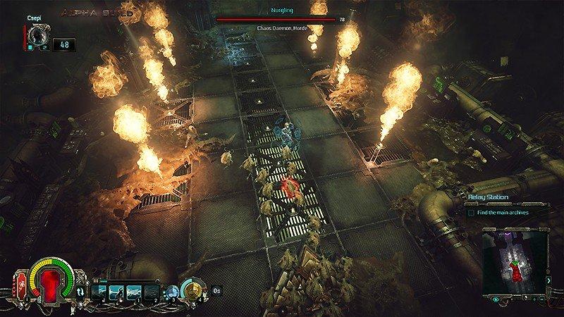 SF世界が舞台のハクスラ作品『Warhammer 40,000: Inquisitor - Martyr』