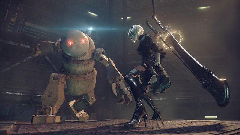 ハクスラバトルシーンが魅力の『NieR:Automata (ニーア:オートマタ)』