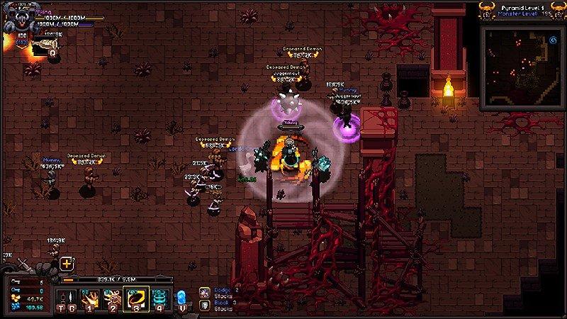 レトロなプレイ画面でハクスラを楽しめる『Hero Siege』