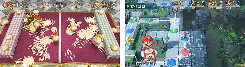多彩なゲームが収録されている『スーパー マリオパーティ』