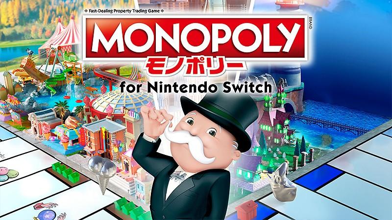 Switch向けのパーティーゲーム『モノポリー for Nintendo Switch』