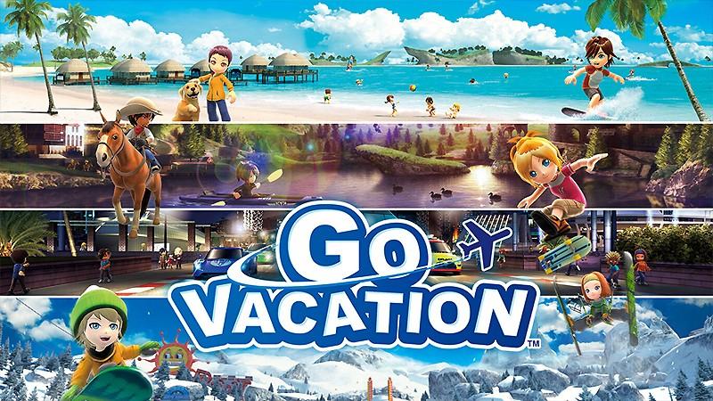 Switch向けのパーティーゲーム『GO VACATION』