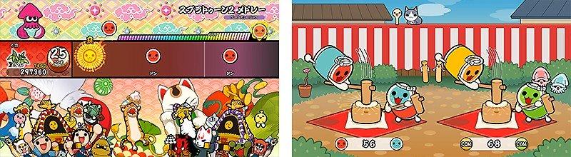 音ゲーとして遊べる『太鼓の達人 Nintendo Switchば~じょん!』