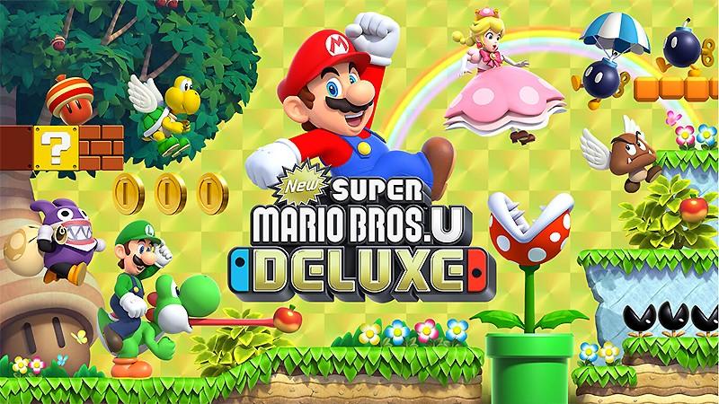 Switch向けのアクションゲーム『New スーパーマリオブラザーズ U デラックス』