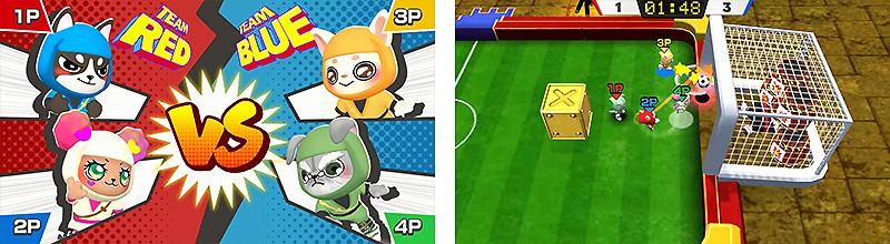 Switch向けサッカーゲーム『ドギーニンジャ 爆熱ストライカーズ!』