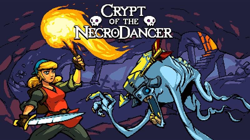 ドット絵の世界でリズムゲーム風バトルを体験できる『Crypt of the NecroDancer』