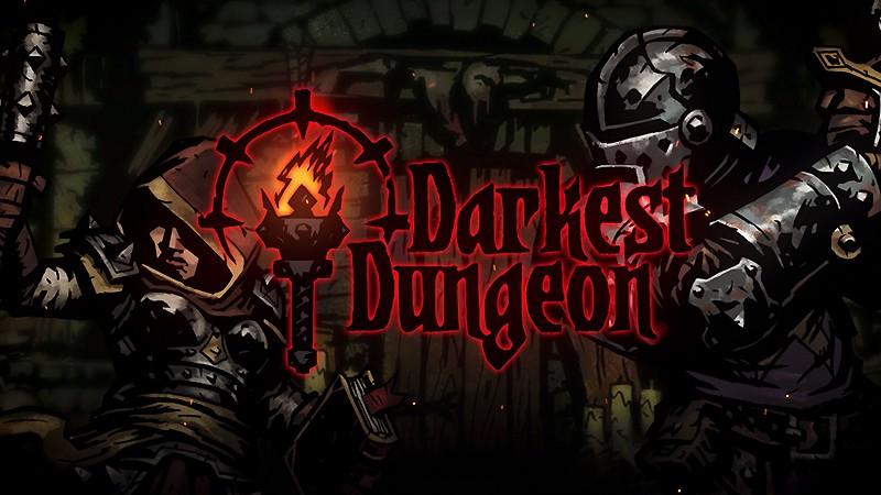 独特なゲームグラフィックを持つ『Darkest Dungeon』
