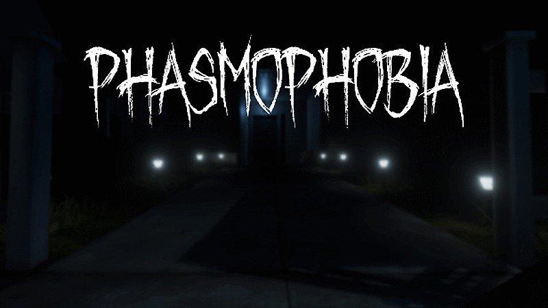 VRに対応している『Phasmophobia』