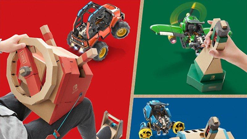 工作とゲームをドッキングした『Nintendo Labo Toy-Con 03: Drive Kit(ドライブ キット)』