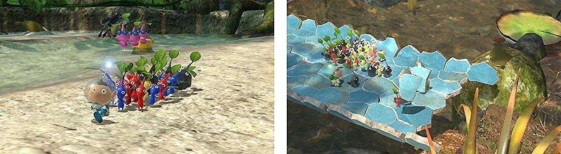 パズルアクション要素もある『ピクミン3 デラックス』