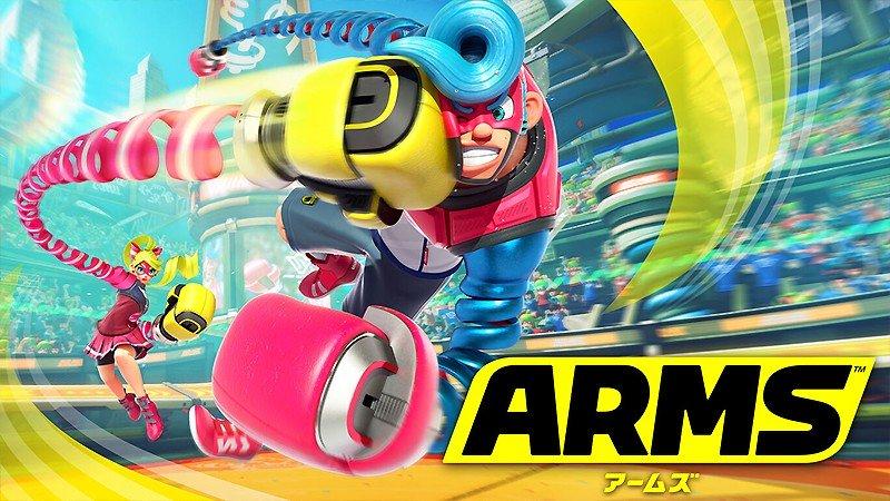子供も楽しめる格闘アクションゲーム『ARMS』