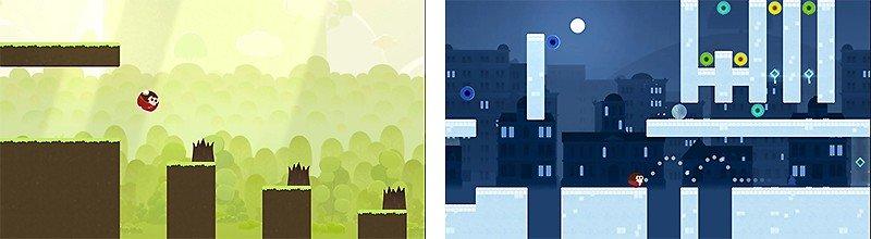 デザイン性に優れたアクションゲーム『サリーの法則』