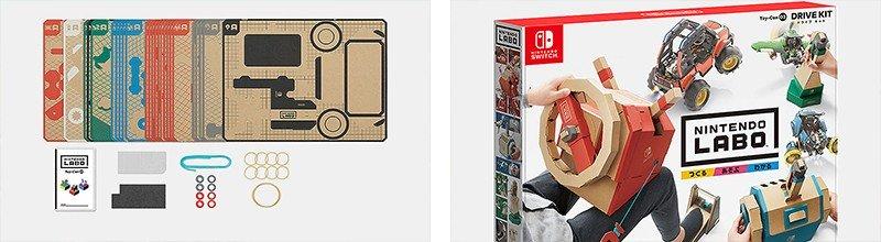 ダンボールでコントローラーを作る『Nintendo Labo Toy-Con 03: Drive Kit(ドライブ キット)』