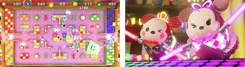 パーティーゲーム風に遊べる『ディズニー ツムツム フェスティバル』