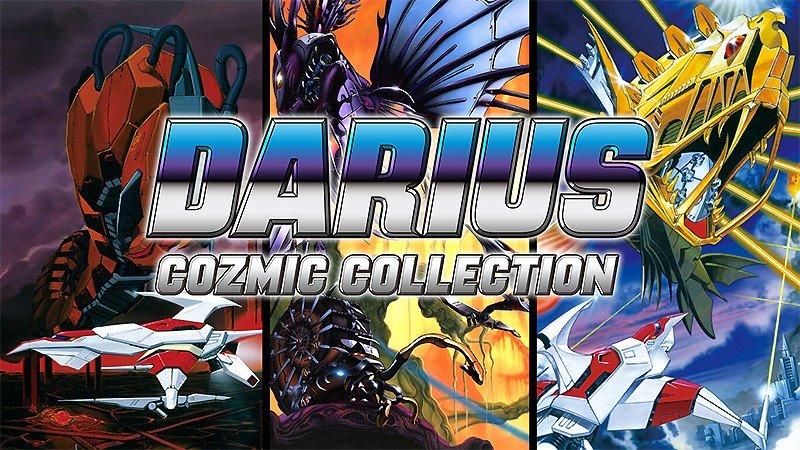 横スクロール型シューティングゲーム『ダライアス コズミックコレクション』