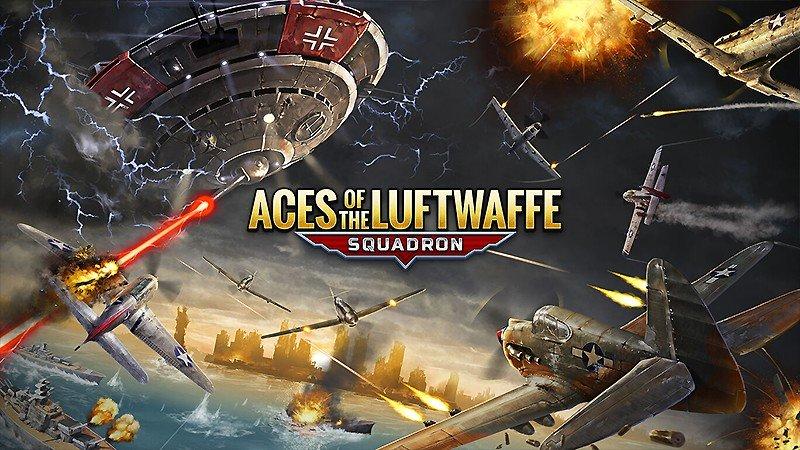 架空戦史の世界で戦える『エース・オブ・ルフトバッフェ -スクアドロン-』