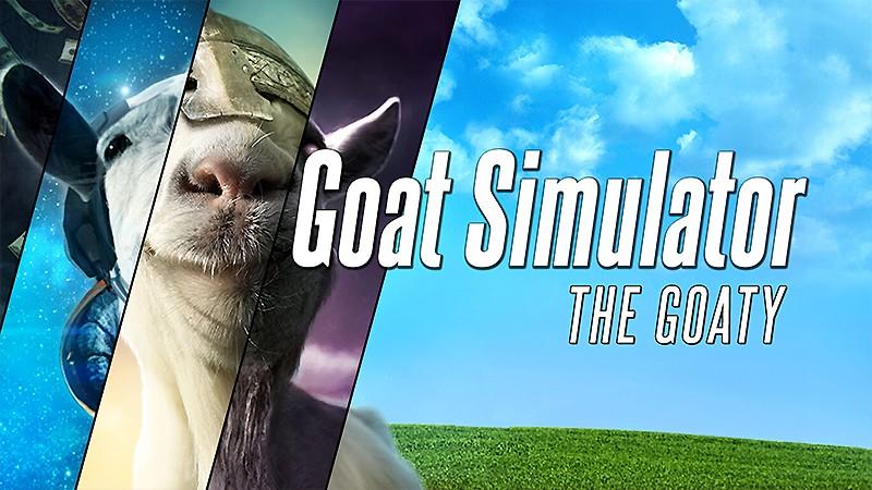 ヤギシミュレーションゲーム『Goat Simulator: The GOATY(ゴートシミュレーター)』