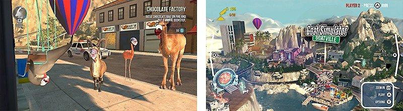 5つの作品がセットになった『Goat Simulator: The GOATY(ゴートシミュレーター)』