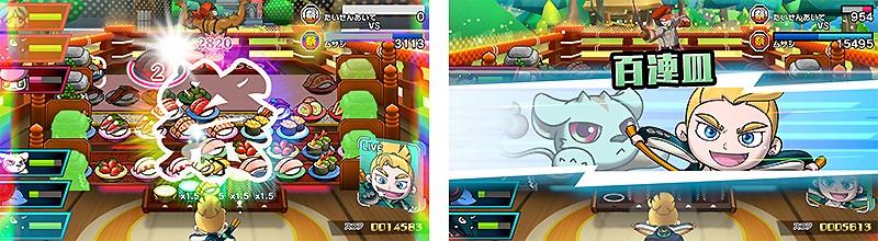 幅広い年代が遊べるパズルゲーム『超回転 寿司ストライカー The Way of Sushido』