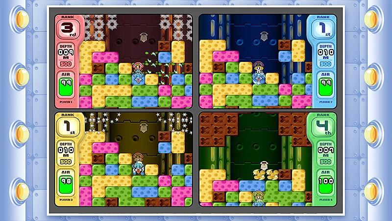 気分転換にもなるSwitch向けのパズルゲーム