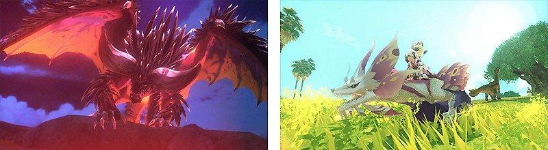 協力と対戦プレイを楽しめる『モンスターハンターストーリーズ2 ~破滅の翼~』