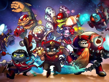 2DのMOBAゲーム「Awesomenauts 」を新規登録!画像